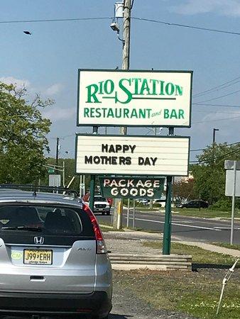 Rio Grande, NJ: Welcome Sign