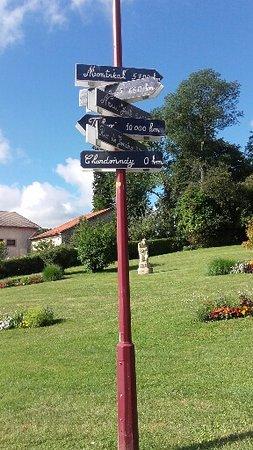 Chardonnay, Francja: vue avant depuis l hôtel