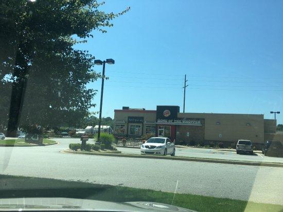 Pickens, Carolina del Sur: Burger King