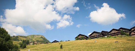Champoussin, Szwajcaria: fronte schiera