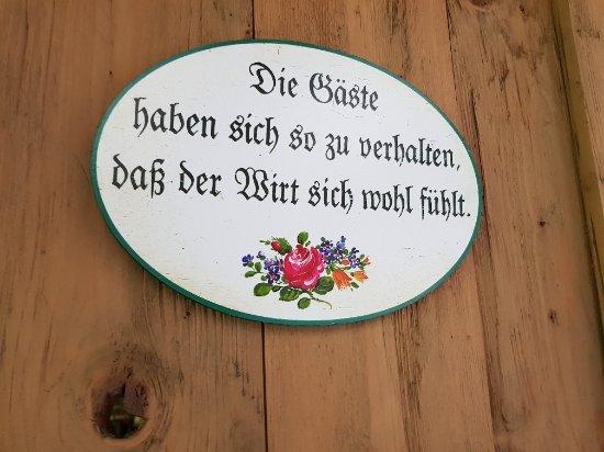 Mühltal, Østerrike: So war es nicht :-)
