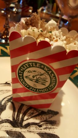Inn at Little Washington: Truffle popcorn