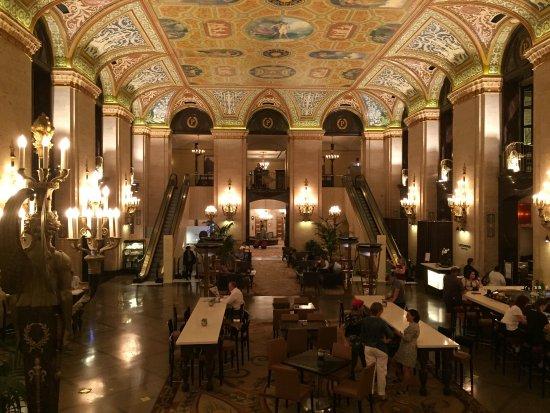 Palmer House Hilton Historic Lobby
