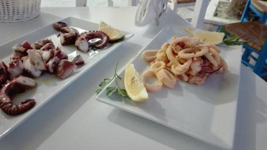 Province of Trapani, إيطاليا: Polpo e calamari