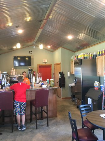Clarendon, Teksas: Coolest little cafe