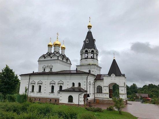 Yard of Holy Trinity Stefano-Makhrishchskiy Monastery