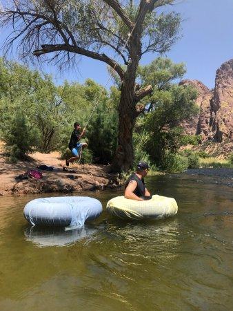 Saguaro Lake Guest Ranch: Salt River Tubing Experience