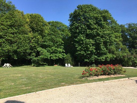 Prunay, Frankrig: Tuin