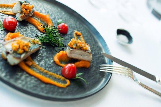 aperçu de la cuisine du chef vincent premorvan - picture of le