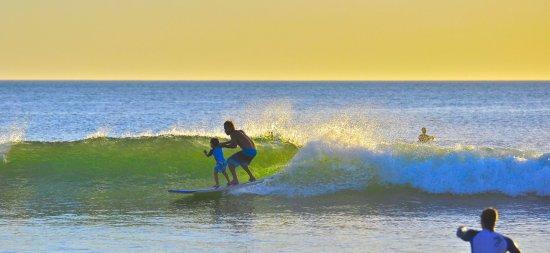 Cahuita, Costa Rica: Muy divertido para Toda la Familia en especial niños y jovenes.