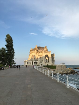 Constanta, Romania: Sunset near Casino
