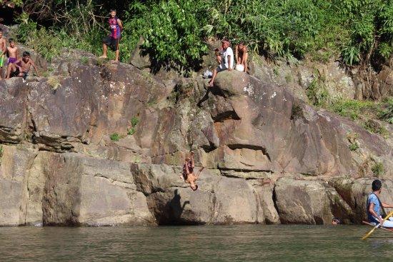 Meghalaya, India: local children playing