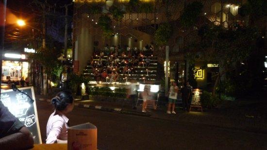 Amadea Resort & Villas: Frühstückslokal am Abend