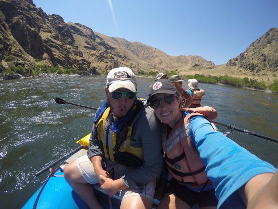 Cambridge, ID: Rafting the Snake River!