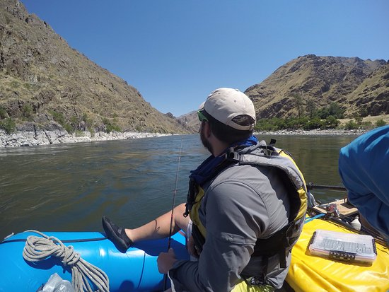 Cambridge, ID: Fishing in the Snake River