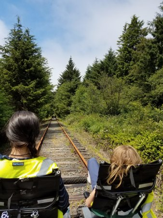 Bay City, OR: on the rails