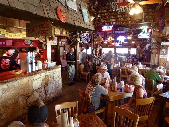 Bryan, TX: Interior of Chicken Oil Company