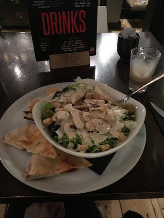 Fantastic Chicken Caesar Salad With Crostini Picture Of