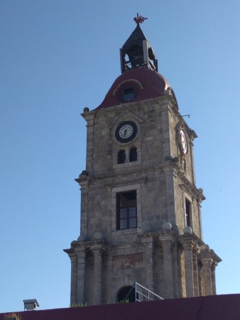 věž - Picture of Roloi Clock Tower, Rhodes Town - TripAdvisor