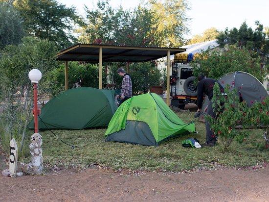 Sachsenheim Guest Farm: Camping area