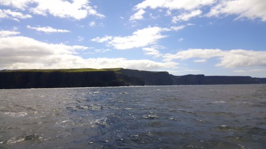 O'Brien Line Ferries : View of the cliffs from the boat