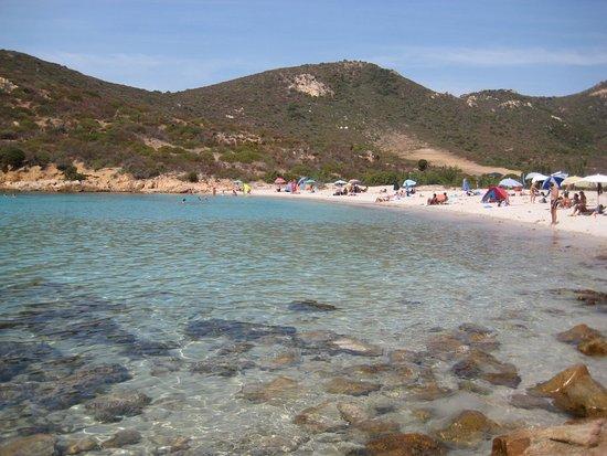 Teulada, Itália: la spiaggia