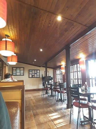 Aero Club of East Africa Restaurant: Interior view - another angle
