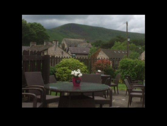 Innkeeper's Lodge Castleton, Peak District: View from beer garden