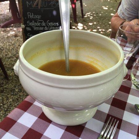 Montagrier, Frankrike: A superb lunch.