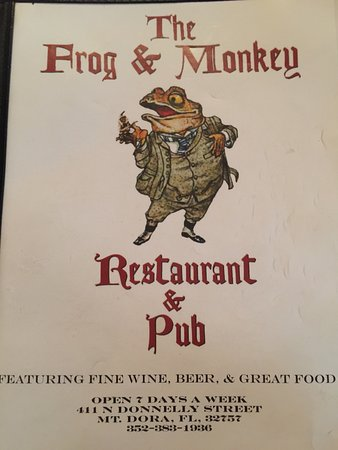 Frog and Monkey Restaurant & Pub: Great day at Mt Dora!