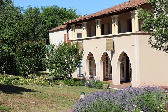 Monflanquin, فرنسا: L'accueil du domaine