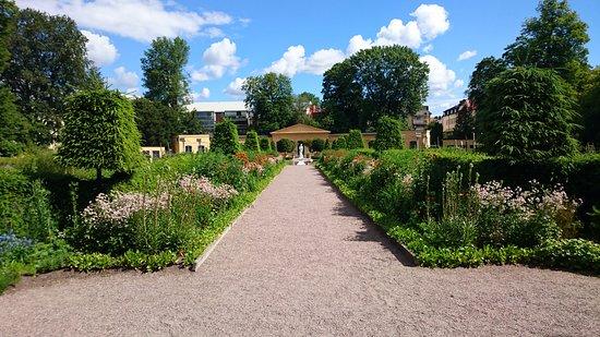 Linnaeus Garden : Linne garden in Uppsala, Sweden
