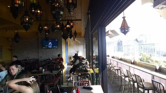 The Glass Door Restaurant: Sliders To Patio