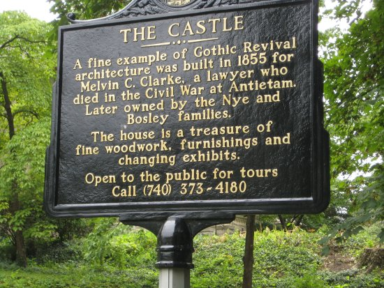 ‪‪Marietta‬, ‪Ohio‬: The Castle Marker‬
