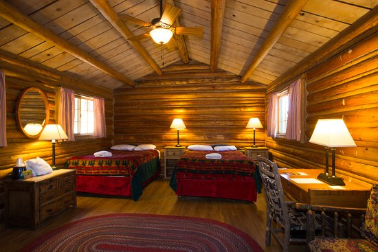 Colter Bay Village: Cabin Interior