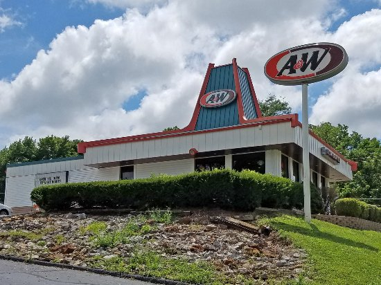 A W Restaurant Exterior Of Boonville