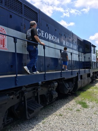 Southeastern Railway Museum: These are only some of the trains, there is so much more to see ! My Grandson had a great time ❤