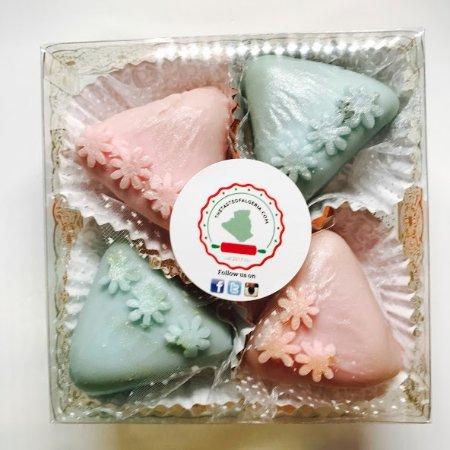แคมป์เบลล์, แคลิฟอร์เนีย: Mkhabez [Almond Based Gluten Free Sweets]
