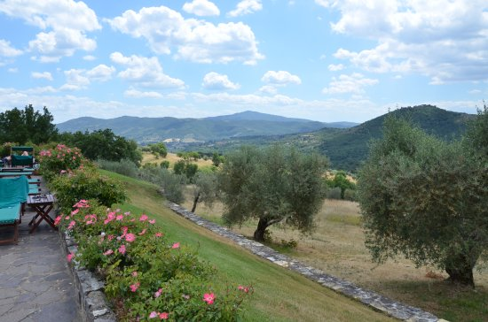 Tavernelle di Panicale, Italy: View from the Pool