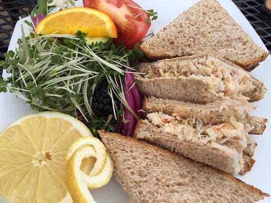 Sandside Cafe: Crab Sandwich £7.25