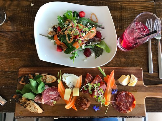 Stonington, ME: beautiful charcuterie & farmer's salad