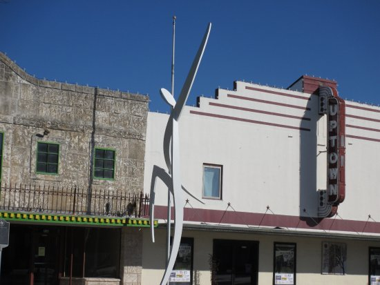 Marble Falls, TX: This, too, is in the Main Street median