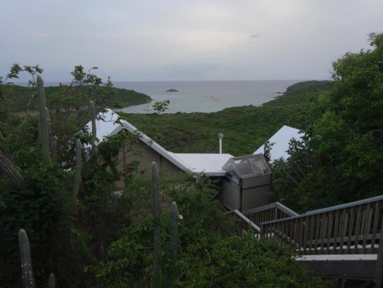Cafe Concordia: at the eco resort, above the restaurant