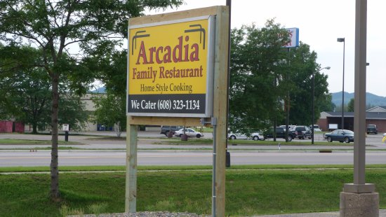 Arcadia, WI: Convenient to the highway