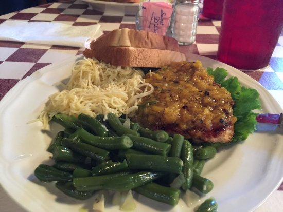 The Grace Miller Restaurant: Southern comfort foods...