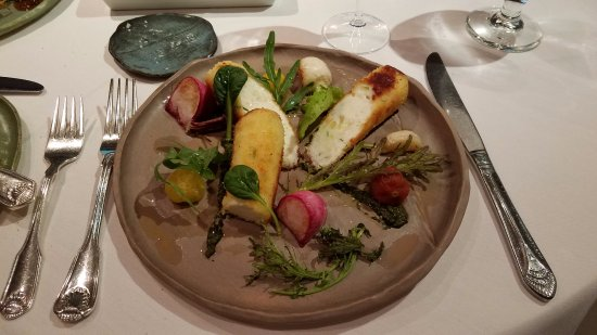 Perkinsville, VT: scallop dish
