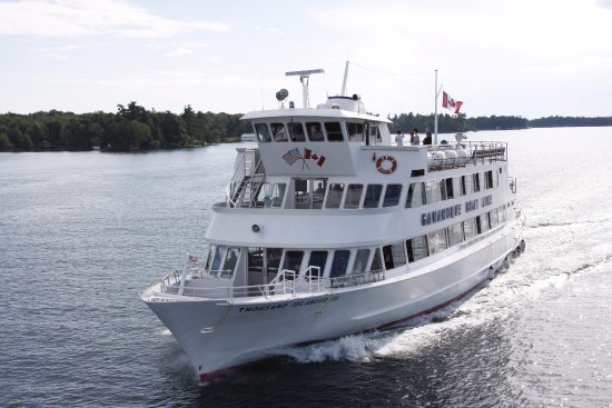 Gananoque, Canada: The mighty Thousand Islander III