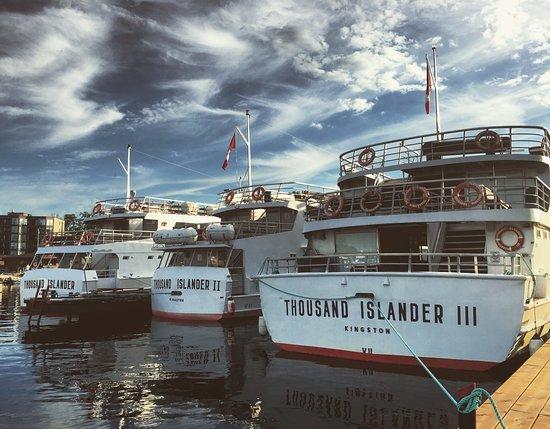 Gananoque, Canada: The fleet