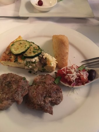 Sutton, WV: Some of the superb food we recently enjoyed!
