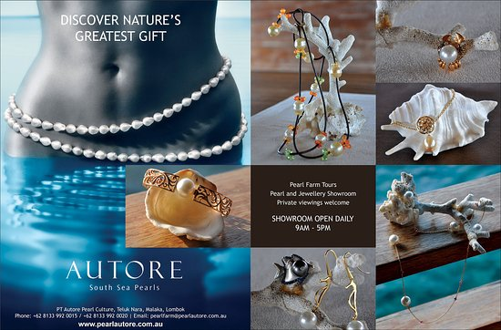 Pemenang, Indonesia: Brand new collections of AUTORE South Sea Pearls Jewelries. contact us for more information
